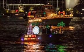 Luzes de Natal em Jacksonville, FL
