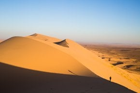 Singing Sands in the Gobi Desert