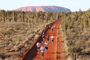 Maratona australiana do Outback