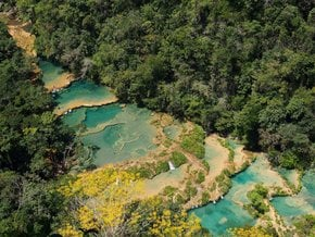 Semuc Champey: Natural Pool Staircase