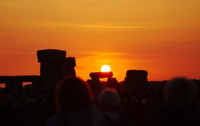 Stonehenge: Spring Equinox, Summer Solstice, Autumn Equinox, and Winter Solstice