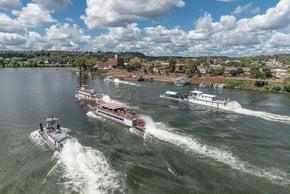 Das Ohio River Sternwheel Festival