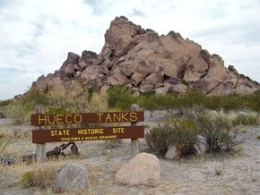 Hueco Tanks State Park and Historic Site