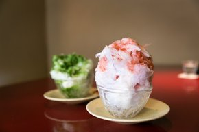 Kakigori or Shaved Ice