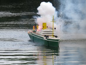 Peasholm Park Naval Warfare