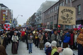 Narvik Winter Festival or Vinterfestuka