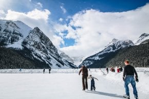 New Year's Eve in Banff