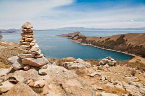 Isla del Sol and Lake Titicaca