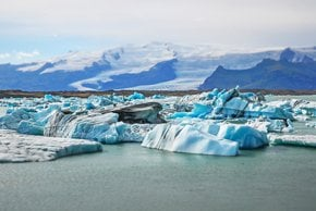 Laguna del glaciar de Jökulsárlón