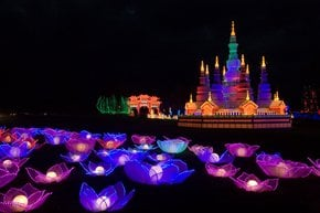 Festival of Light at Longleat