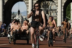 World Naked Bike Ride (WNBR Londra)