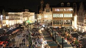 Los mercados navideños de Bélgica