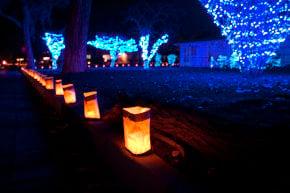 Luzes de Natal em Albuquerque