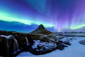 Auroras Boreais ou Luzes do norte
