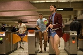 No Pants BART Ride Day