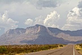 Randonnée vers Guadalupe Peak