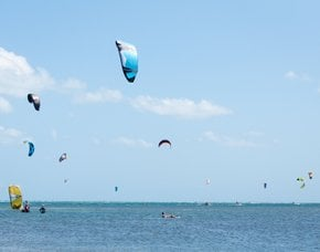 Kiteboarding and Windsurfing