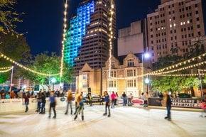 Luzes de Navidad en y cerca de San Antonio, TX