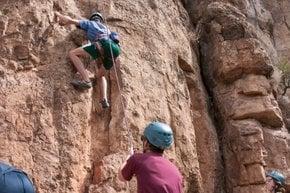 Shelf Road Rock Climbing