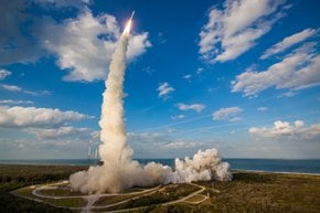 Rocket Launch at Kennedy Space Center