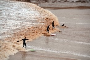 Moncton Tidal Bore Surfing & Viewing