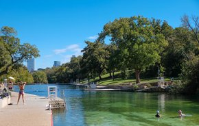 Barton Springs Piscina