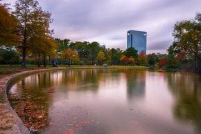 Houston Herbstlaub
