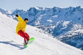 Skiing and Snowboarding near LA