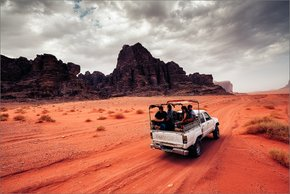 Sand Riding or Desert Safari