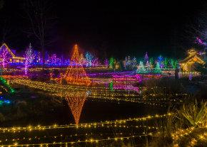 Luces de Navidad en Idaho