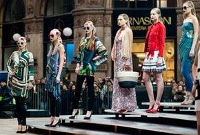 Mailänder Frauen Fashion Week