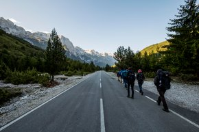 Trekking from Valbona to Theth