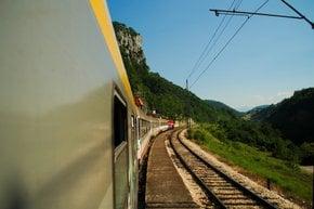 El tren de Bar a Belgrado