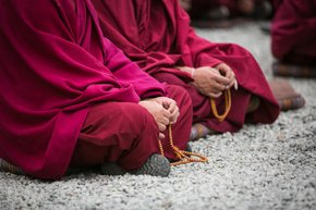 Monk Debates at Sera Monastery
