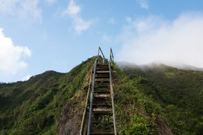 Moanalua Valley Trail to Haiku Stairs
