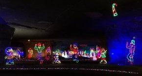 Luzes de Natal em Louisville