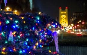 Luzes de Navidad dentro y cerca de Sacramento