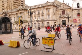 Sunday Ciclovía in Bogota