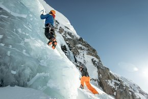 Ice Climbing and Mountaineering