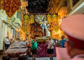 Maltese Festas or Village Feasts