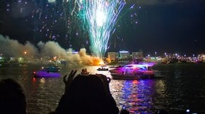 New Year's Eve at Bayfront Park, Miami