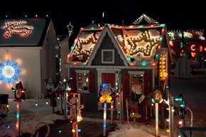 Pennsylvania's most festive Christmas Light displays