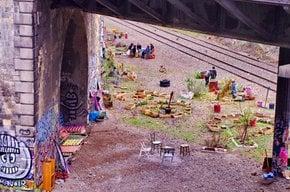 Abandoned Railway Abloom