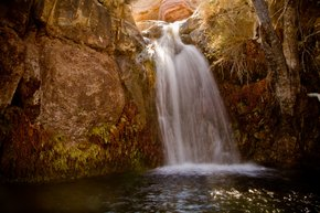 Waterfalls at Red Rock Canyon