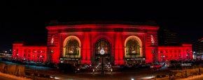 Las luces de Navidad de Kansas City