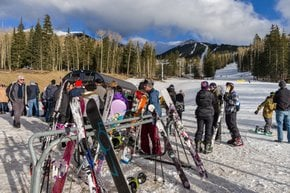 Skiing and Snowboarding near Flagstaff, AZ