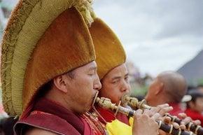 Tashi Lhunpo Thangka Festival