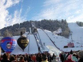 Saut de ski du Nouvel An (Neujahrsskisprinpen)