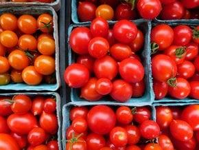 Santorini tomates de cereja