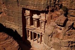 Solsticio de invierno en Petra